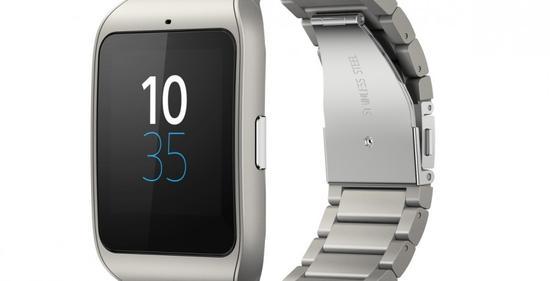 索尼于CES发布不锈钢版SmartWatch 3